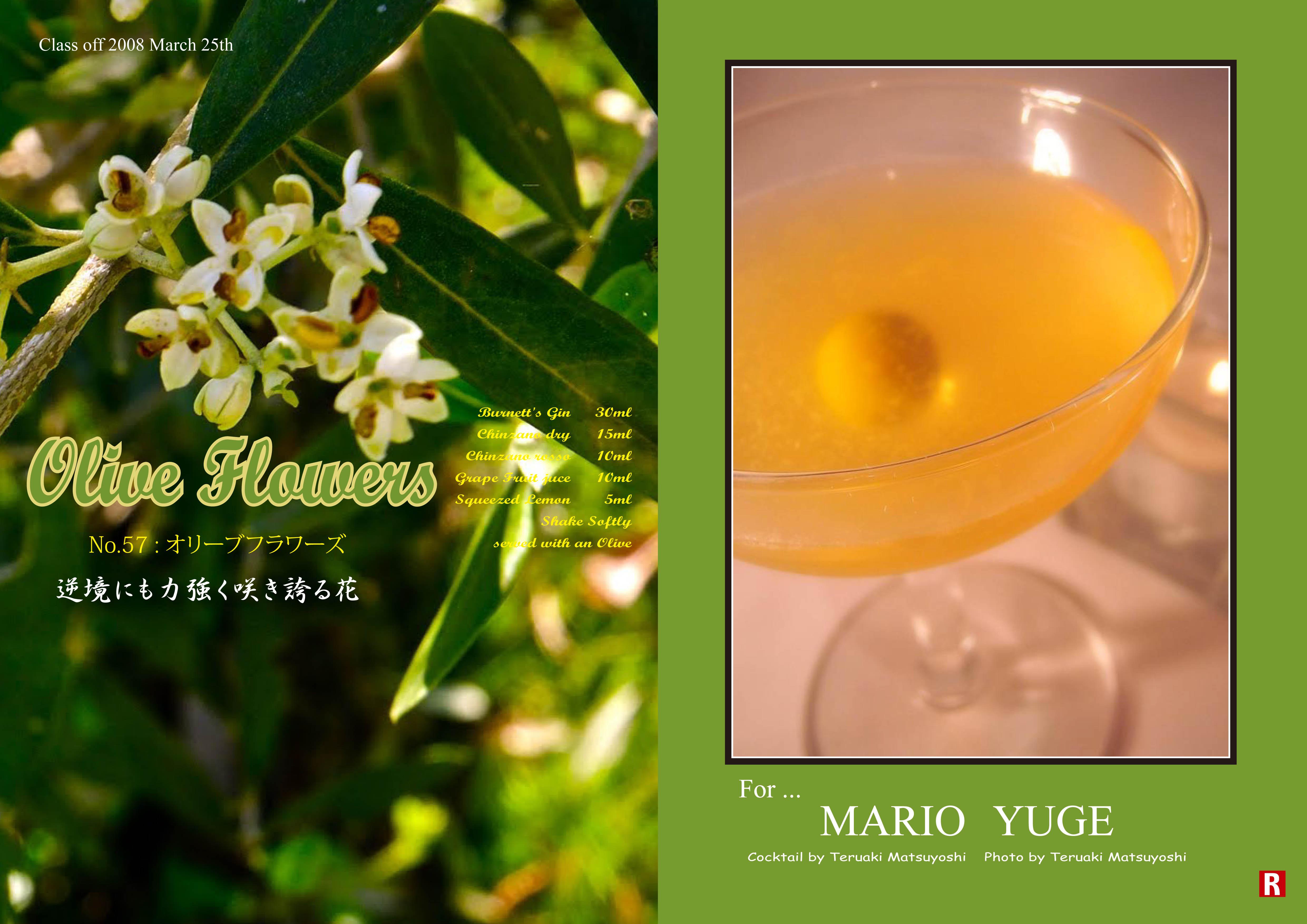 200803Mario Yuge_Olive Flowers